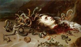 Peter Paul Rubens - Hlava Medusy Ve Vídeňské Galerii