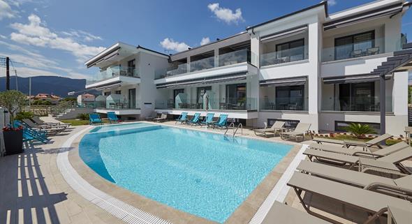 Hotel Albatros luxury living (Chalkidiki, Nea Vrasna) - letadlo