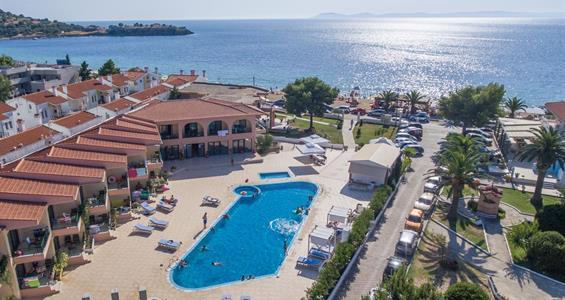 Blue Sea Hotel**** (Chalkidiki, Toroni) - vlastní doprava