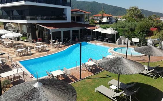 Hotel Alexander Inn (Chalkidiki, Stavros) - letadlo