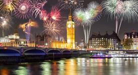 Silvestrovský Londýn s ohňostrojem včetně trajektu + sekt do páru