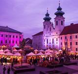 Celodenní koupání v termálních lázních Győr ***