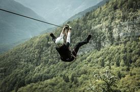 Rafting v podhůři Julských Alp s koupáním u moře