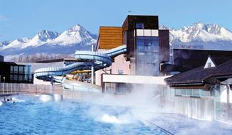 Poprad, hotel Aquacity Season v areálu aquaparku s vybaveným wellness