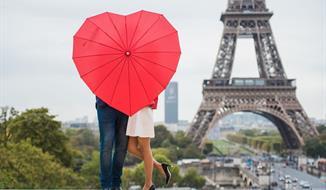 Valentýn v Paříži s návštěvou Versailles na 5 dní se sektem do páru