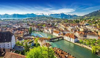 Švýcarsko s výletem do Chamonix a lanovkou k masivu Mont Blanc