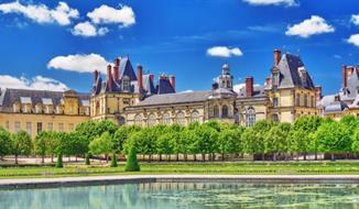 Paříž a zámky Fontainebleau, Vaux-le-Vicomte a Chateau de Maintenon