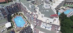 ADMIRAL PLAZA Hotel letecky z Ostravy (11 a 12denní pobyty)