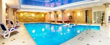 Jižní Polsko, elegantní hotel Adam SPA v polském lázeňském městě u hranic s wellness a polopenzí