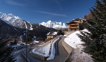Dobbiaco, Hotel Casa Alpina s rodinnou atmosférou v blízkosti sjezdovek s polopenzí
