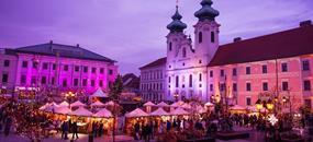 Celodenní koupání v termálních lázních v ceně Győr