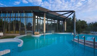 Radenci, hotel Radin s termály s minerální vodou