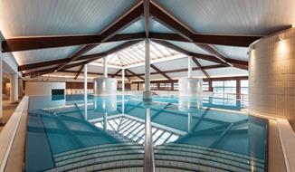 Moravske Toplice, hotel Termal s unikátní černou termální vodou