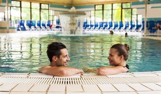 Banovci, příjemný hotel Zeleni gaj s termálním aquaparkem