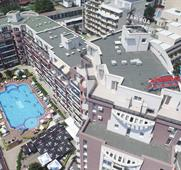 ADMIRAL PLAZA Hotel letecky z Ostravy (8denní pobyty) s polopenzí