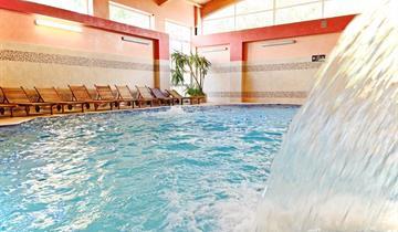 Kudowa-Zdrój, hotel Kudowa u českých hranic s wellness