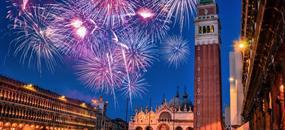 Silvestr v Benátkách a městě lásky Verona + sekt do páru