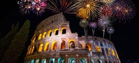 Silvestr v Římě + sekt do páru