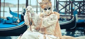 Proslulý karneval v romantických Benátkách ve 4 dnech