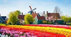 Belgie a Holandsko: Brusel, Amsterdam a okolí - Keukenhof, Zaanse Schans a Delft