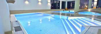 Polonica-Zdrój, luxusní hotel Nowy Zdrój s bazény a saunovým světem