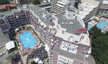 ADMIRAL PLAZA Hotel (8 denní pobyty) vlastní dopravou se snídaní
