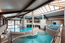 Moravske Toplice, luxusní hotel Livada Prestige s bazény s černou termální vodou