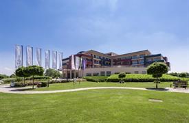 Ptuj, luxusní Grand hotel Primus superior s termálními bazény a polopenzí