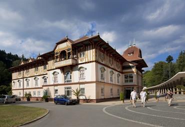 Luhačovice, hotel Jurkovičův dům