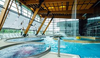 Poprad, hotel Riverside přímo u aquaparku s wellness zónou