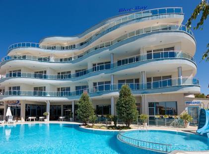 Hotel Blue Bay (8 denní pobyty) vlastní dopravou se snídaní