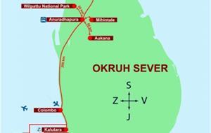 SEVERNÍ OKRUH/INDURUWA  (HOTELY - POLOPENZE / PANDANUS BEACH HOTEL - ALL INCLUSIVE)