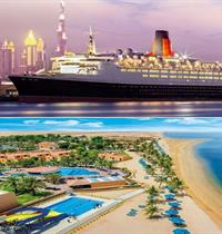 QUEEN ELIZABETH 2  (SNÍDANĚ) + SMARTLINE BIN MAJID BEACH RESORT (ALL INCLUSIVE)