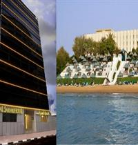 AL SARAB HOTEL (SNÍDANĚ) + BIN MAJID BEACH HOTEL (POLOPENZE)