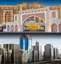 ROSE RAYHAAN BY ROTANA (SNÍDANĚ) + DOUBLETREE BY HILTON RESORT AND SPA MARJAN ISLAND ( POLOPENZE/ ALL INCLUSIVE)