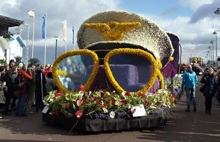 Květinové korzo a Amsterdam