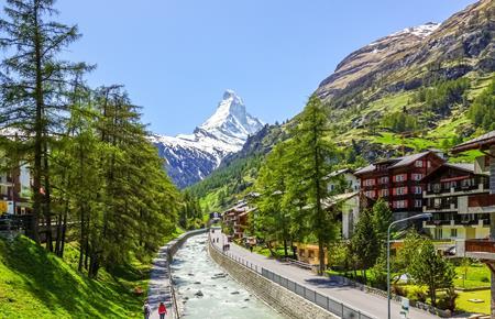 Podél řeky Rhóny - cyklistický zájezd, Zermatt