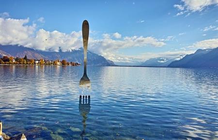 Na dohled od Ženevského jezera, Chamonix, Montreux