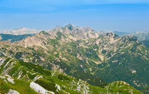 Julské Alpy sever - s turistikou (stany)