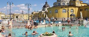 Slovenské a maďarské termály s výlety (autobusem), ubytování malých penzionech/soukromí