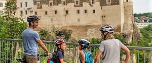 Moravské a rakouské Podyjí na kole