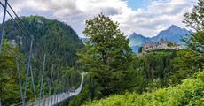 Lechtalské údolí s kartou