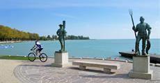 Balaton na kole