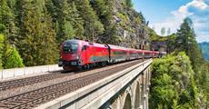 Graz a Štýrsko vlakem