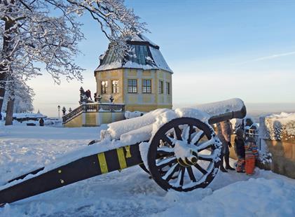 Advent v Saském Švýcarsku - pevnosti Königstein, Bastei a Hohnstein