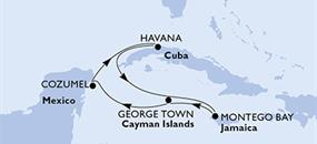 U5DW z Havany na lodi MSC Opera