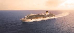 Bahamy, Svatý Kryštof a Nevis, Antigua a Barbuda, Španělsko, Francie, Itálie na lodi Costa Deliziosa