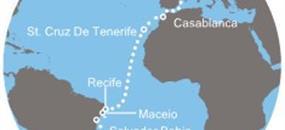 Itálie, Španělsko, Portugalsko, Francie, Velká Británie, Nizozemsko ze Savony na lodi Costa Magica