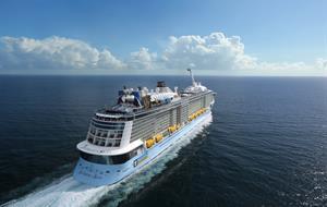 USA, Bermudy, Svatý Martin, Haiti z Cape Liberty na lodi Anthem of the Seas