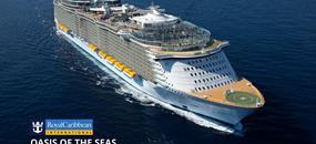 USA, Bahamy, Svatý Martin na lodi Oasis of the Seas